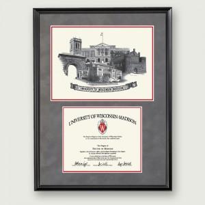 Wisc-Artistic-Diploma-Frame–Black