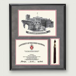 Wisc-Diploma-Tassel–Black