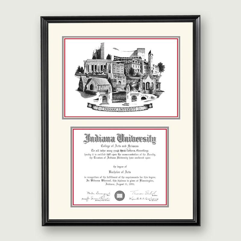 Alumni Artwork Artistic Diploma Frame Standard Matting