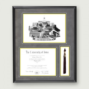 Iowa-Diploma-Tassel–Black