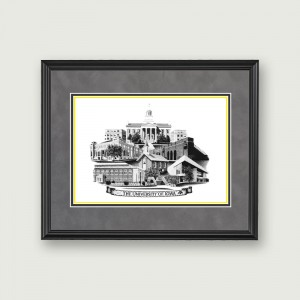 Iowa-Framed-Art–Black