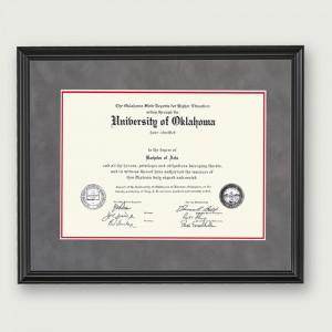 Okl-Suede-Frame-For-Diploma-Bla