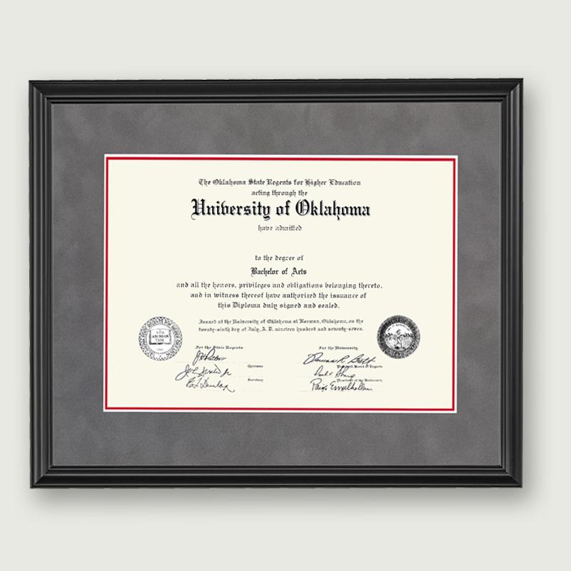 Alumni Artwork Diploma Frame