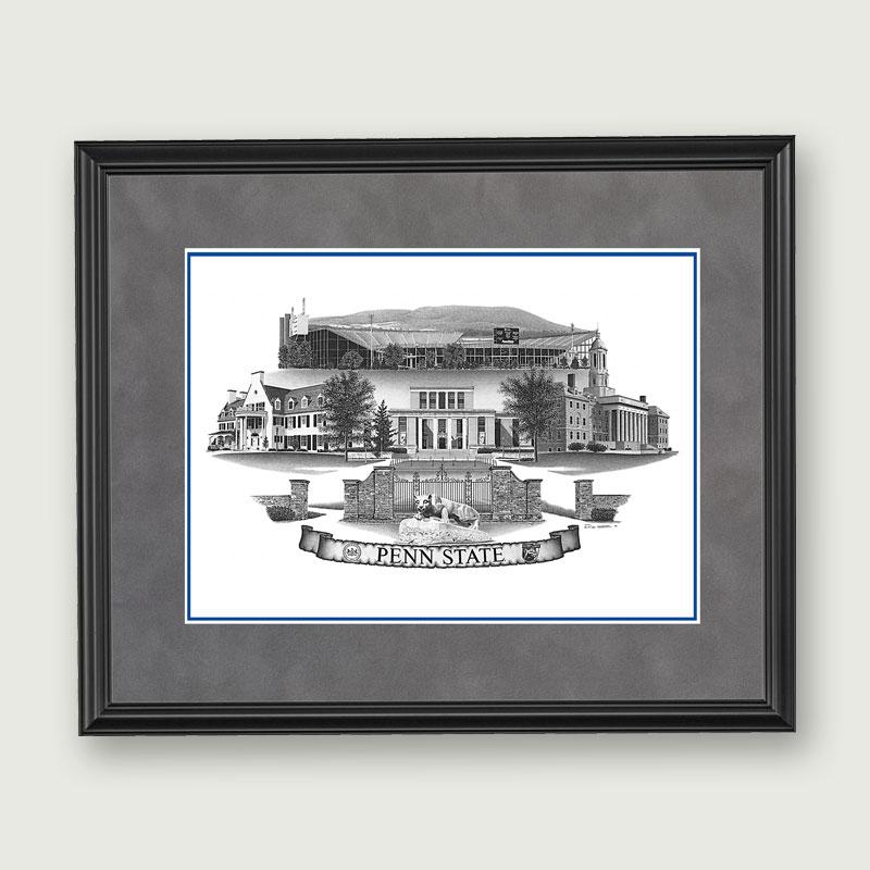 Alumni Artwork Framed Art 16 215 19