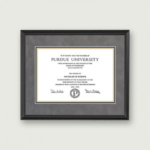 Purdue-Diploma-Frame–Black